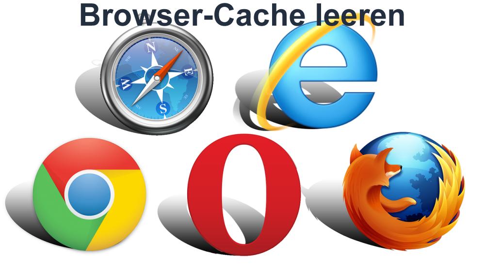 Browser Cache leeren: Den Zwischenspeicher manuell löschen