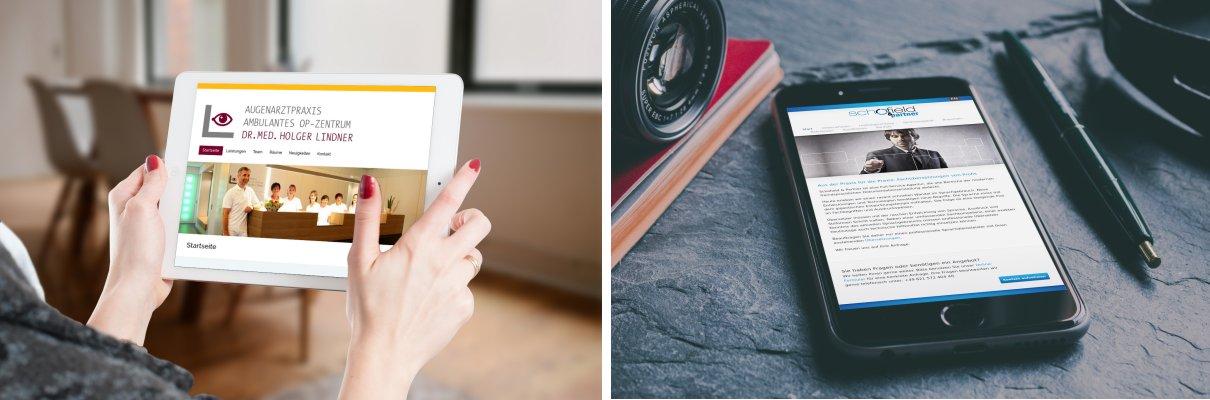 Individuelle Homepage-Gestaltung | Responsive Webdesign | OnePage | WordPress CMS